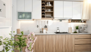LIGHT SCANDINAVIAN KITCHEN - WOODLANDS