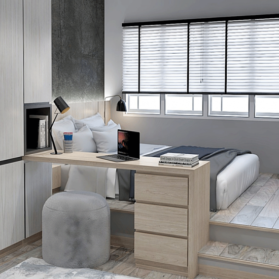 Modern Bedroom - Marsiling
