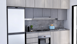 SLEEK NEUTRALK KITCHEN - Jurong West