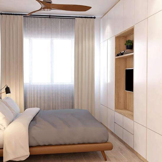Zen Bedroom - Bendemeer