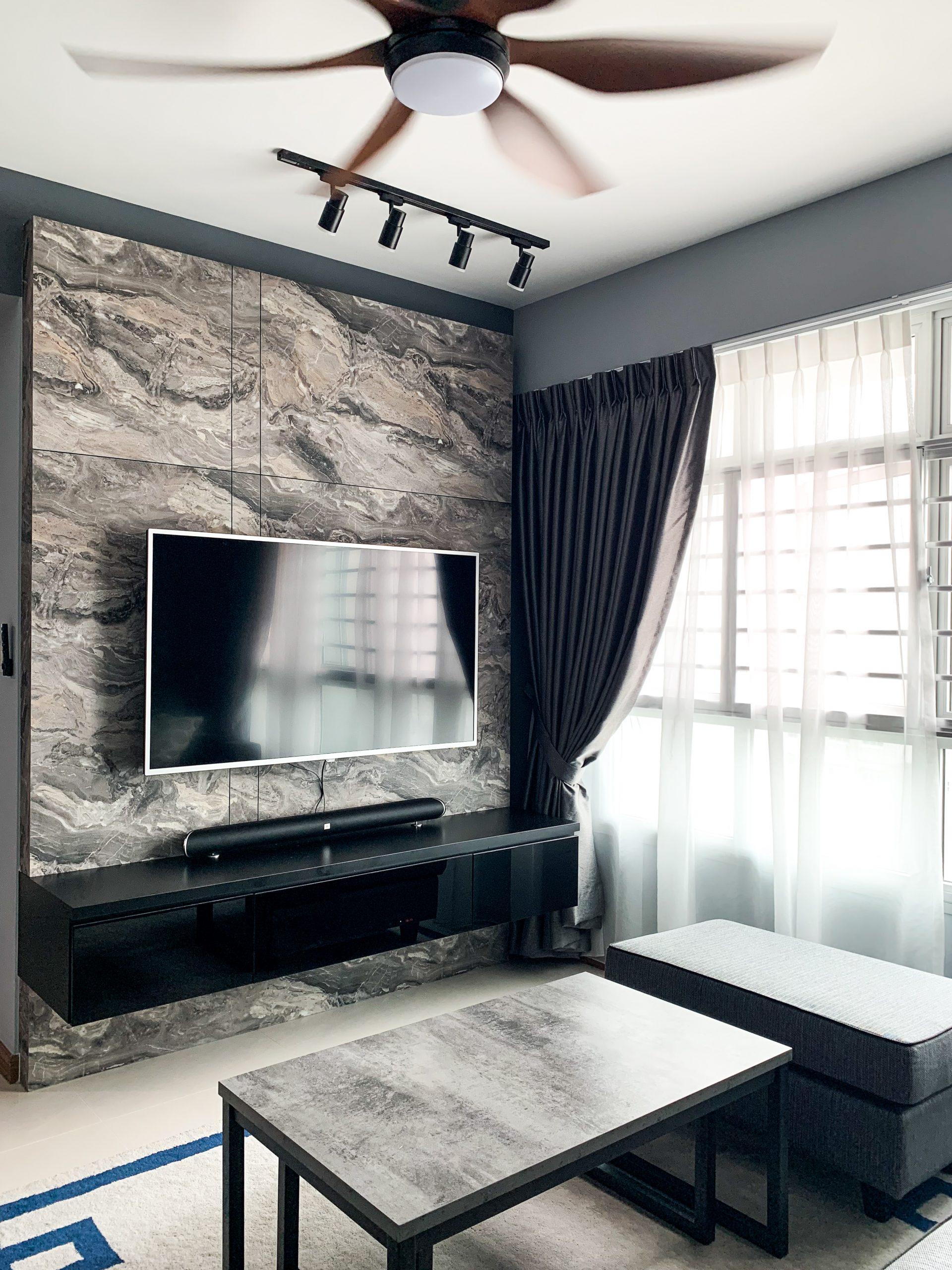 Emperado Marble Living Room