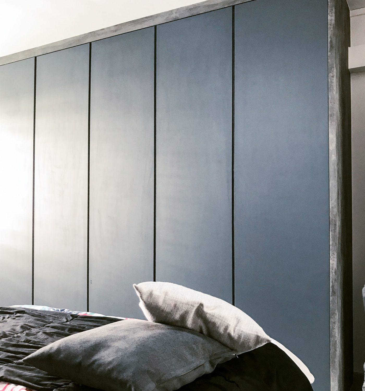 BY DESIGN - 159 Simei Road Master Bedroom's Wardrobe